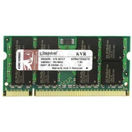 KINGSTON 1GB KVR667D2S5/1G PC2-5300 CL5 SODIMM