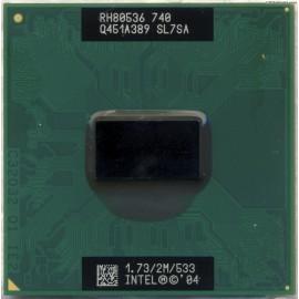 INTEL PENTIUM M 740 1.73GHZ/2M/533 SOCKET mPGA478C