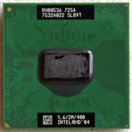 INTEL PENTIUM M 725A 1.6GHZ/2/400 SOCKET mPGA478C