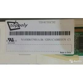 TOPPOLY LCD TD141TGCD2 14.1 INCH XGA