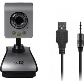 WEBCAM QOOPRO  11009 WITH MICROPHONE