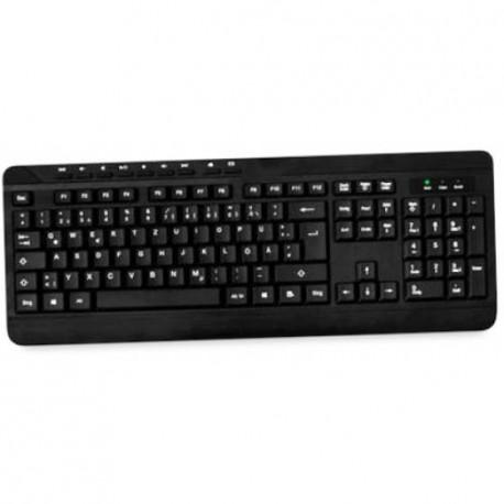 MediaRange Multimedia Keyboard wired black usb