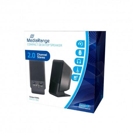 MEDIARANGE COMPACT DESKTOP SPEAKER 2.0 USB  MROS352