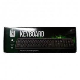 ΠΛΗΚΤΡΟΛΟΓΙΟ KB-U-103-GR USB BLACK USB