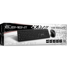 ELEMENT KB-150UMS WIRED COMBO SET USB