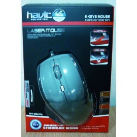 HAVIT HV-MS613L 6 KEY LASER MOUSE USB
