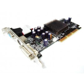 Nvidia GeForce FX5200 128MB DDR DVI VGA TV-Out AGP