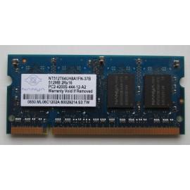 NANYA 512MB PC2-5300S-555 DDR2 667MHZ SODIMM