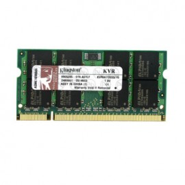 KINGSTON 1GB KVR800D2S5/1G 800MHZ DDR2 SODIMM