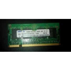 SAMSUNG 256MB 1RX16 PC2-4200S 400MHZ SODIMM